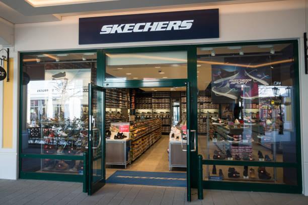 Skechers store stock photo