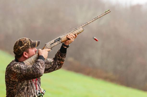 Skeet Shooting stock photo