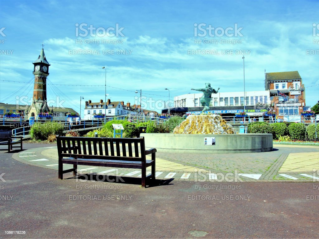 Skegness Landmarks. stock photo