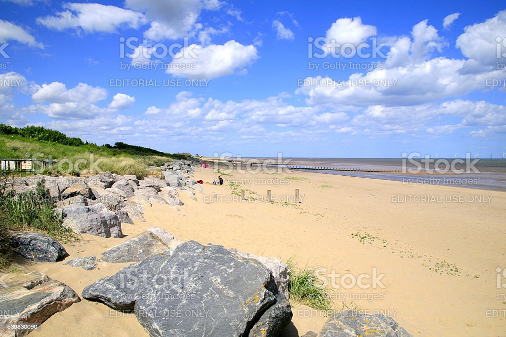 Skegness, Lincolnshire. stock photo