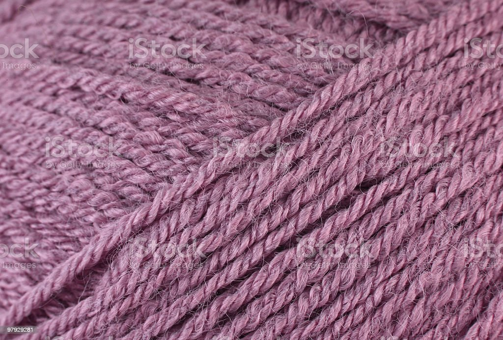 Skein yarn royalty-free stock photo