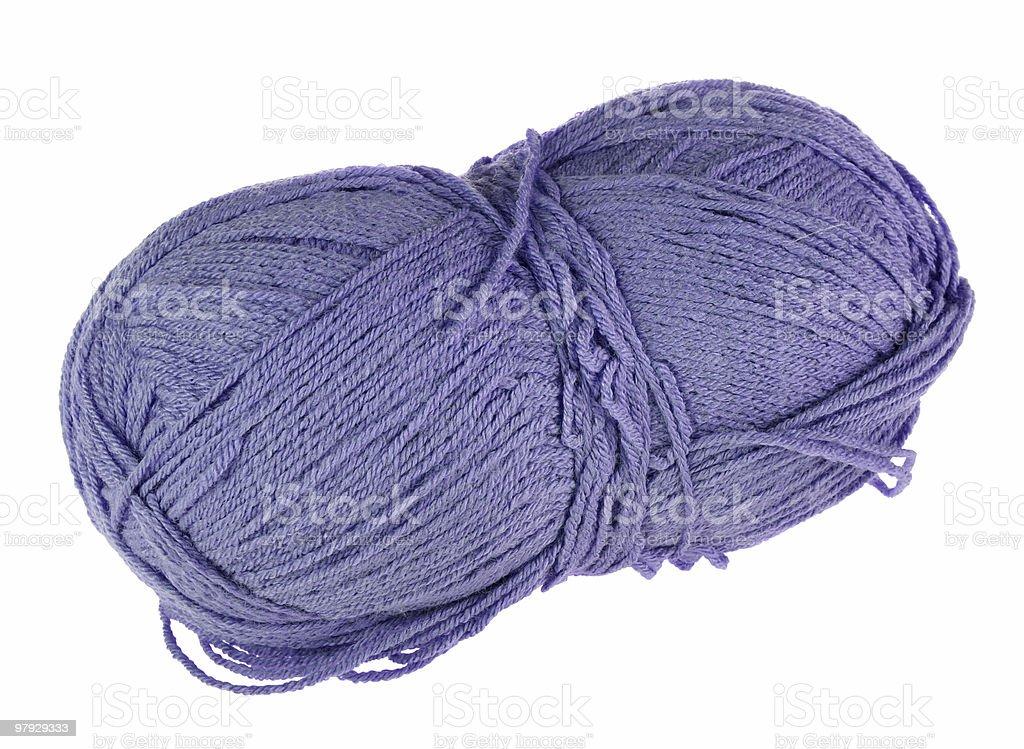 Skein yarn royalty-free stock photo