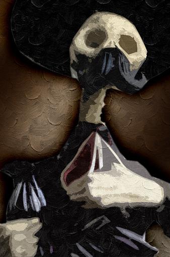 Skeleton Charro