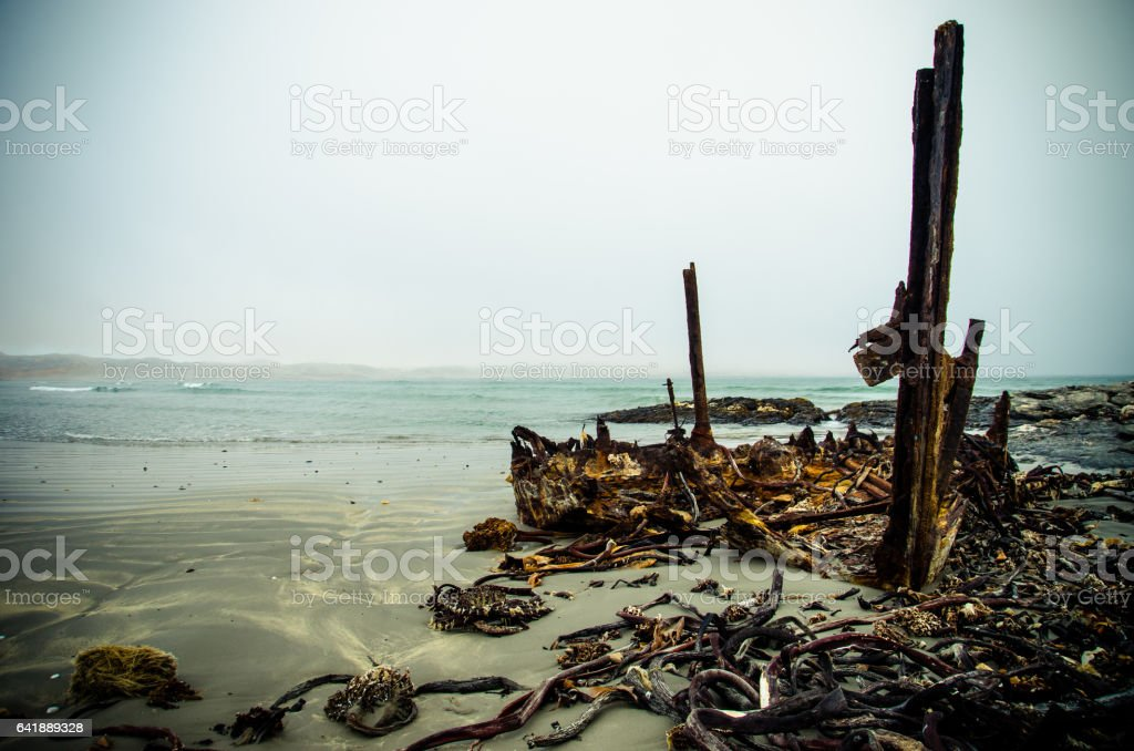 Skeleton Coast stock photo