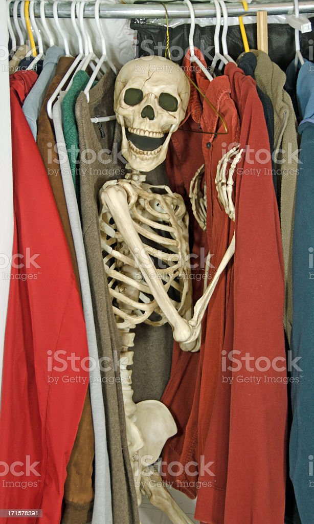 Royalty Free Skeletons In The Closet Pictures Images And