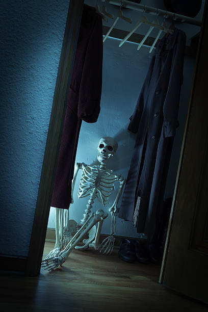 Best Skeletons In The Closet Stock Photos, Pictures