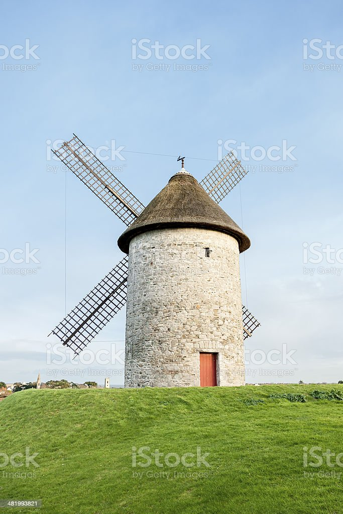 Skerries Windmills stock photo
