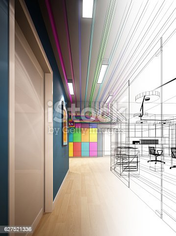 528056058istockphoto sketch design of interior hall 627521336