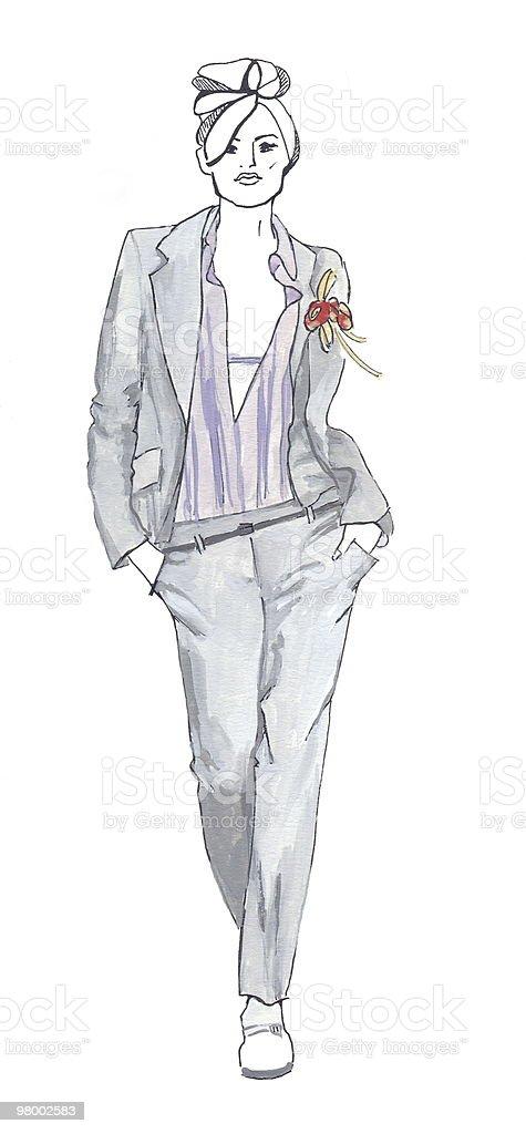Sketch in the grey tones royalty free stockfoto