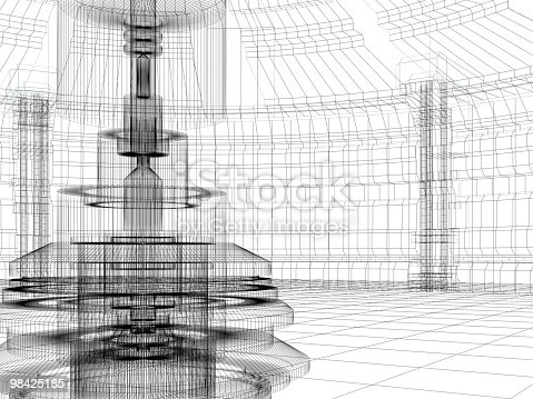 istock sketch of technology building 98425185