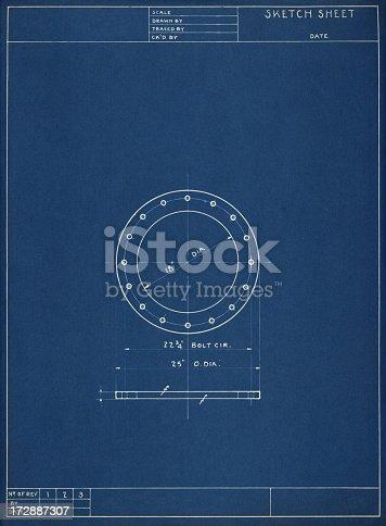 istock Sketch sheet 172887307