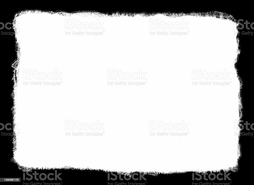 Sketchy Border - HI RES stock photo
