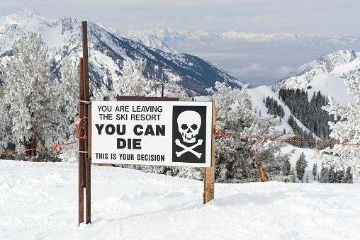 Ski Area Backcountry Access Gate