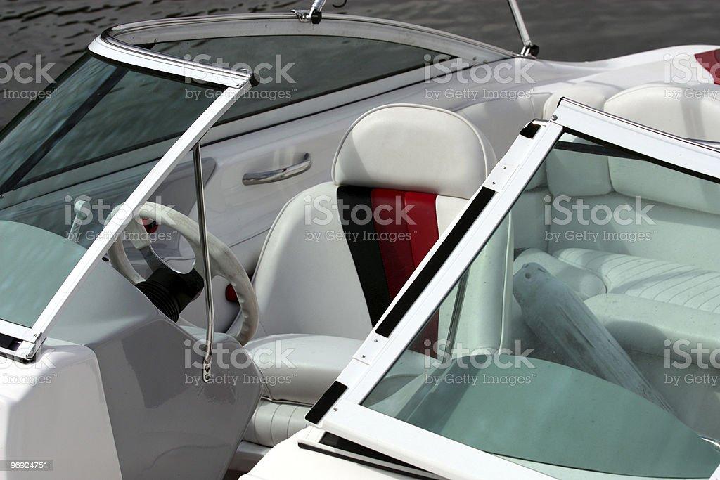 Ski Boat royalty-free stock photo