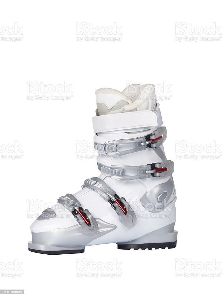 Ski Boot+Clipping Path stock photo