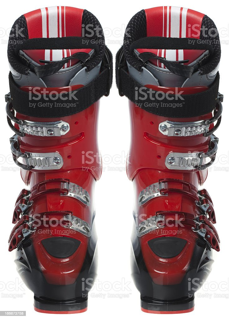 Ski boots royalty-free stock photo