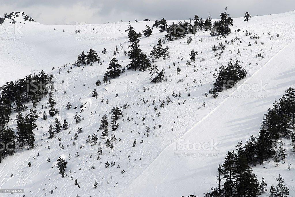 ski center stock photo