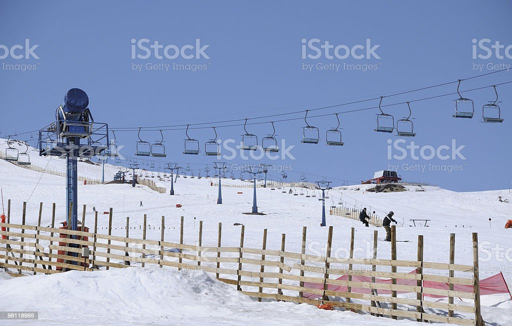 Ski Center royalty-free stock photo