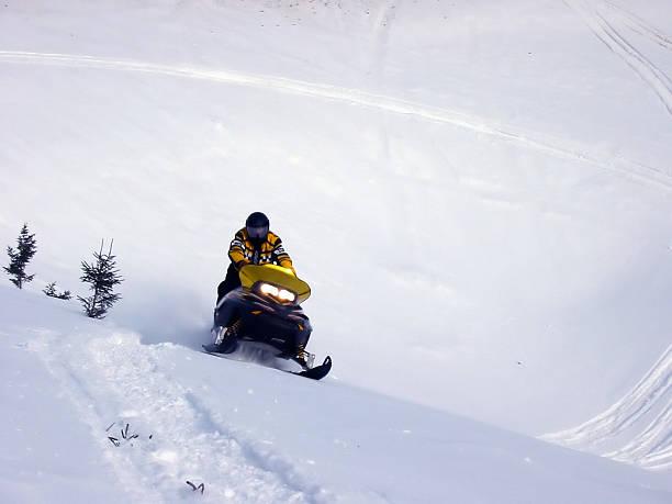 Ski Doo stock photo