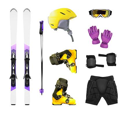 Ski equipment and accessories
