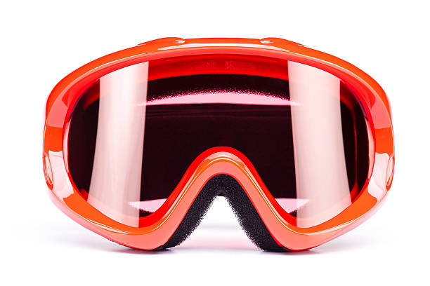 Ski goggles, isolated on white background Ski goggles for children, isolated on white background. Click for more similar images: ski goggles stock pictures, royalty-free photos & images