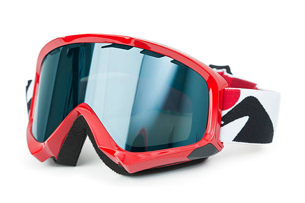 Ski Goggles isolated on white Brand new ski goggles isolated on white background ski goggles stock pictures, royalty-free photos & images