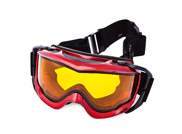 Ski goggles Ski goggles isolated on white background ski goggles stock pictures, royalty-free photos & images