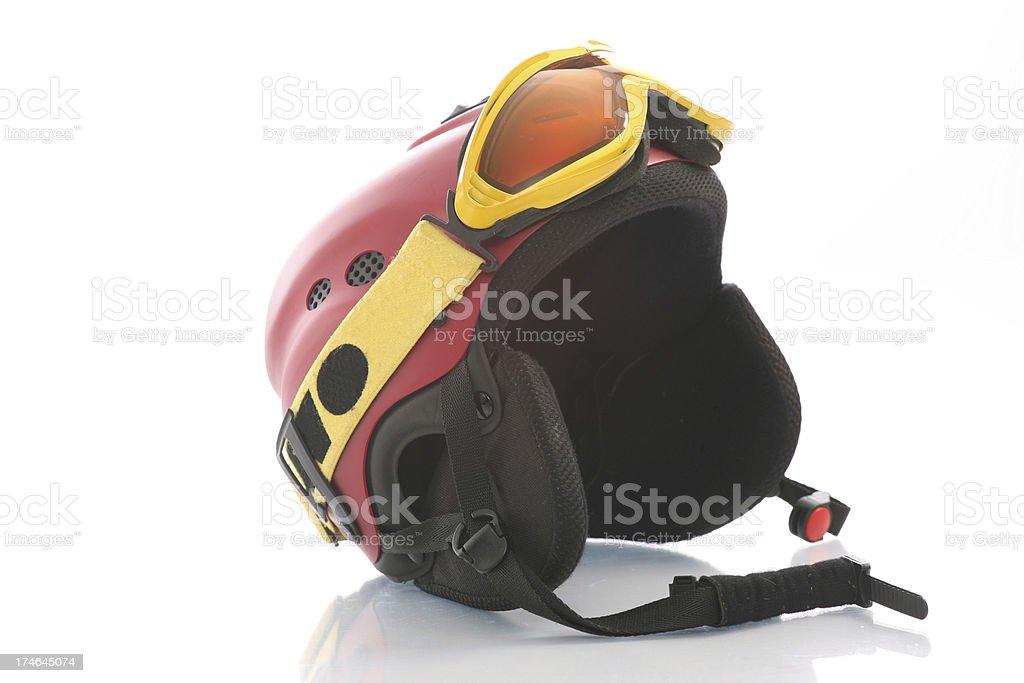 Ski helmet royalty-free stock photo