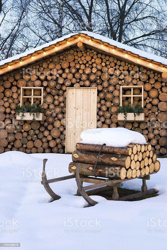 Skihutte Im Winter Stockfoto Und Mehr Bilder Von Allgau Istock