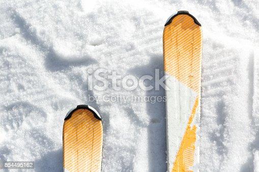 istock ski in the snow 854495162