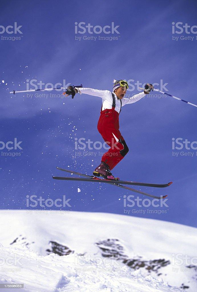 Ski Jump royalty-free stock photo