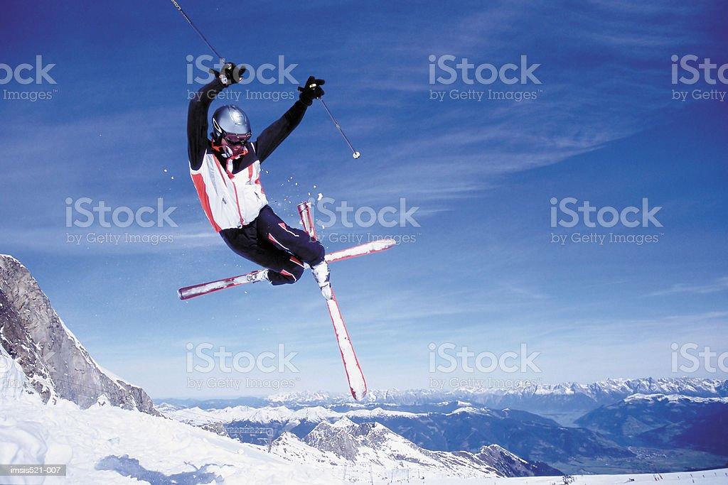 Ski jump Lizenzfreies stock-foto