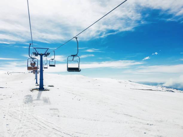 Skilift im Skigebiet Popova Sapka – Foto