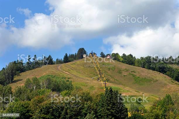 Photo of Ski Lift in Summer