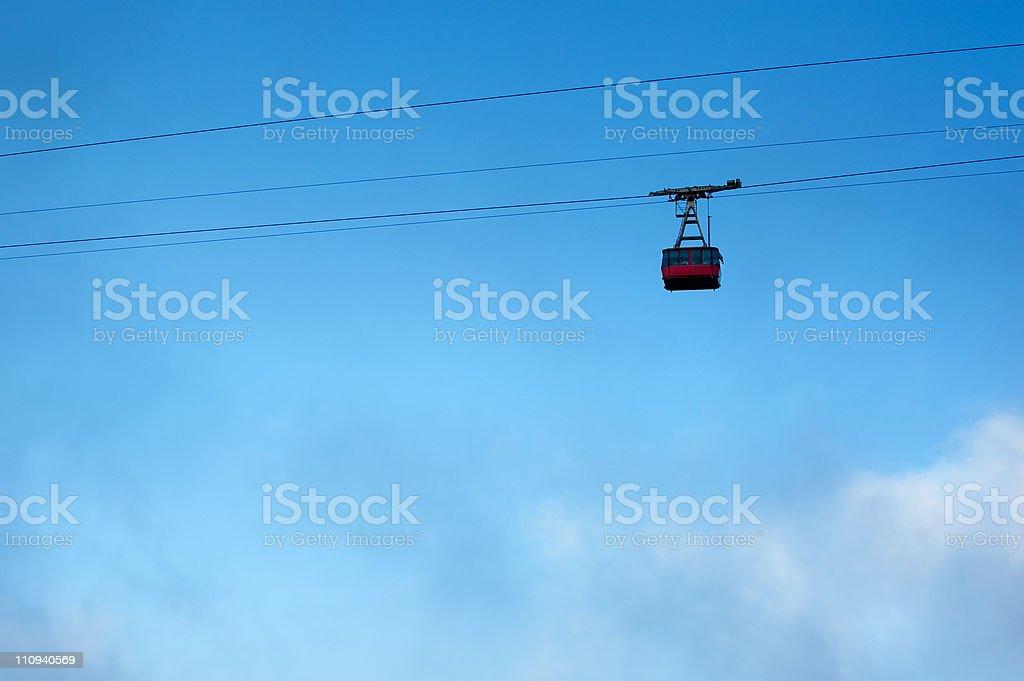 ski lift royalty-free stock photo