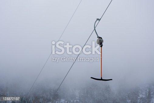 Ski lift detail.