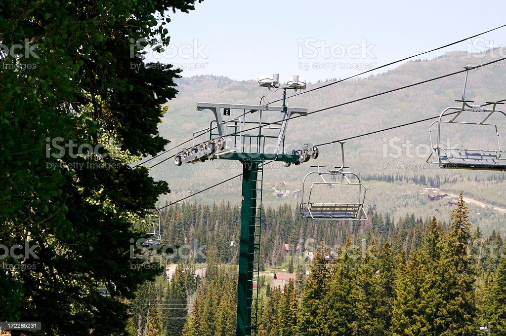 Skilift. – Foto