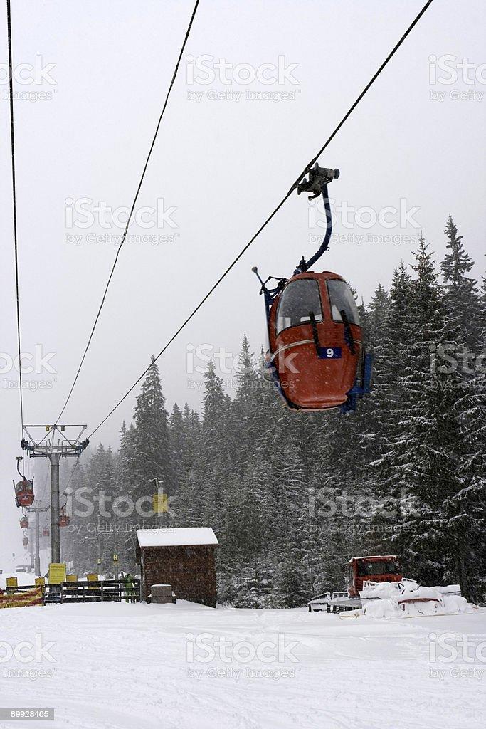 ski lift – Foto
