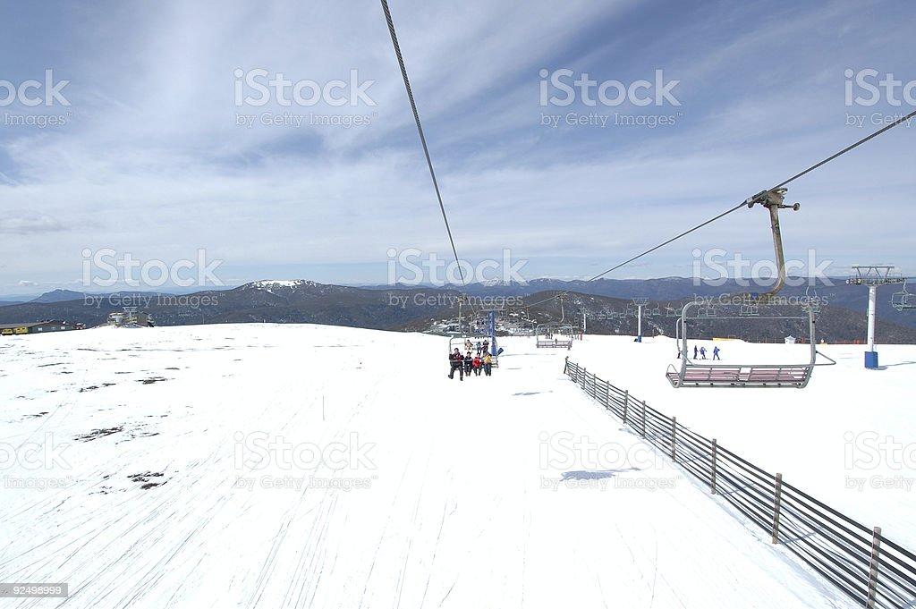 Ski Lift #2 royalty-free stock photo