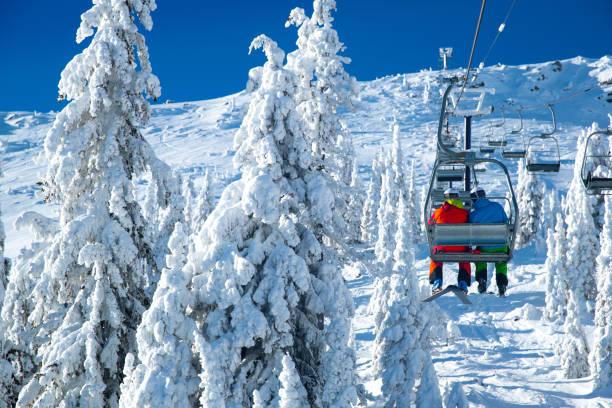 Skilift-Ansicht – Foto