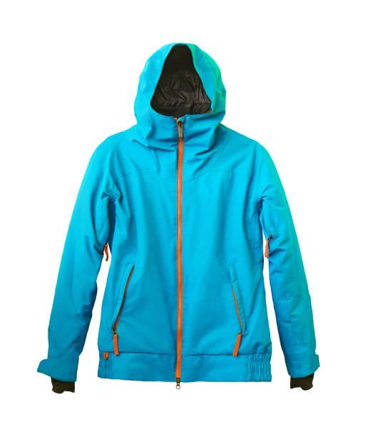 分離的滑雪膜夾克 - 外套 個照片及圖片檔