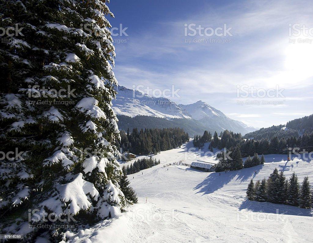 Ski Paradise royalty-free stock photo