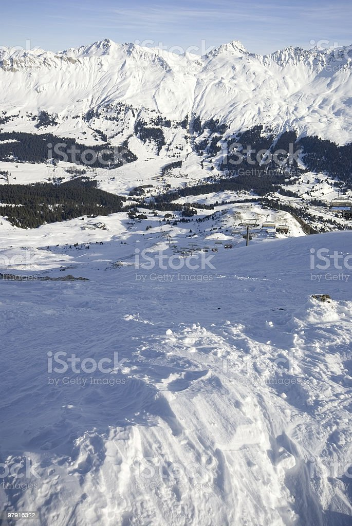 Ski Paradise royalty-free stock photo