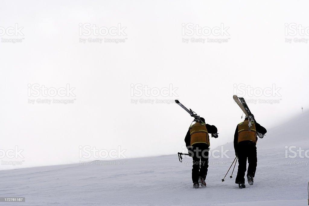 ski patrol royalty-free stock photo