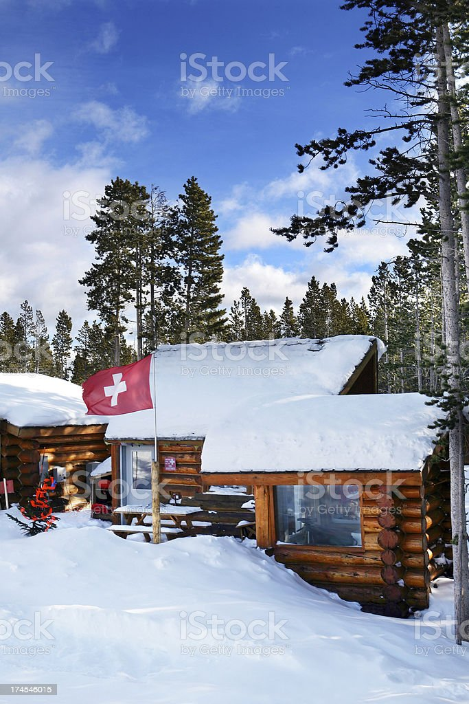 Ski Patrol stock photo
