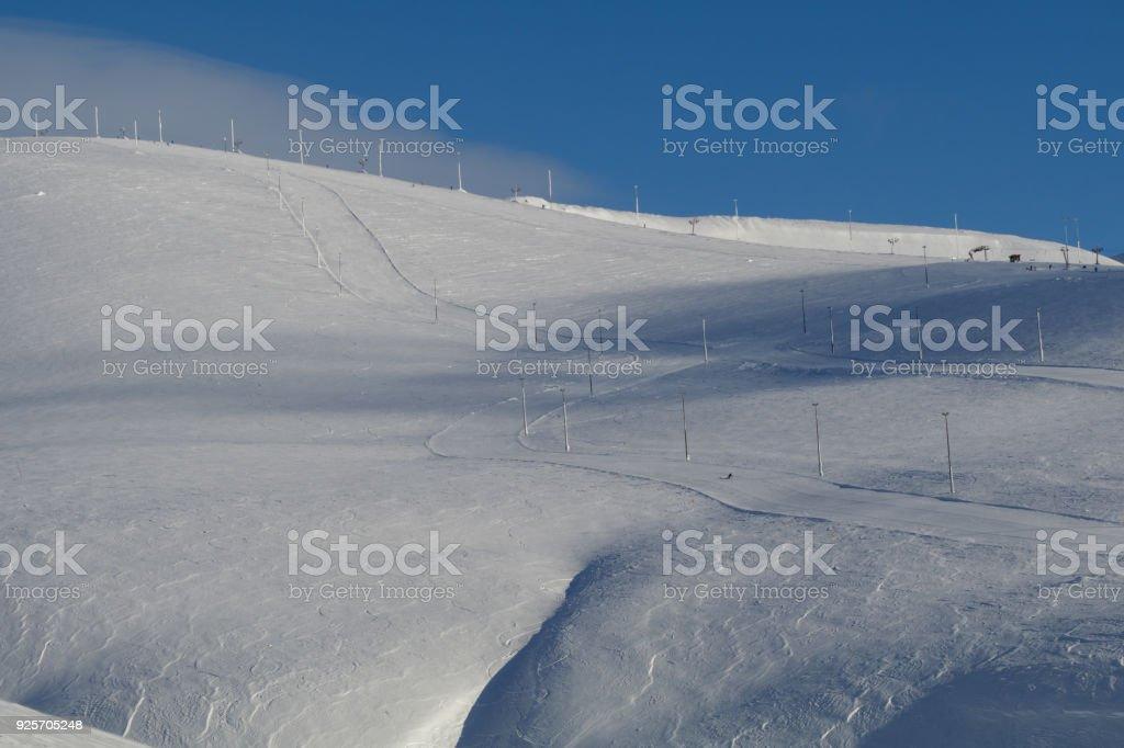 ski resort Big Wood stock photo