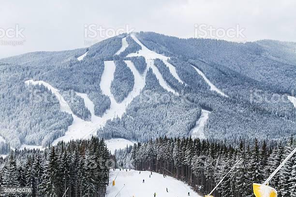 Photo of Ski resort Bukovel, Ukraine.