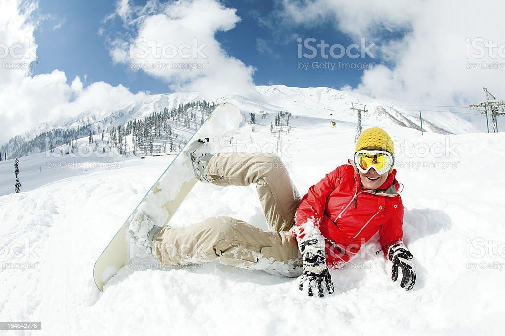 Ski resort in India royalty-free stock photo