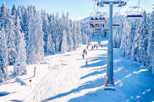Ski resort Kopaonik, Serbia.