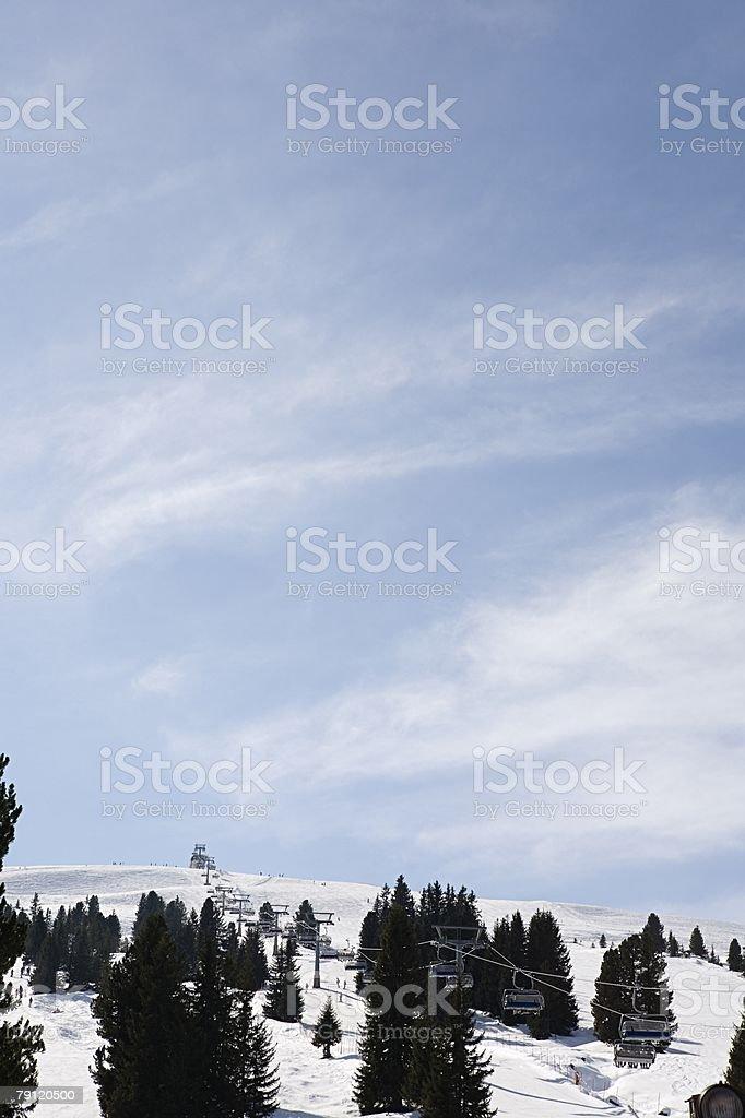 Ski resort 免版稅 stock photo